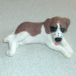 Mommy St Bernard Vintage Puppy in my pocket dogs 90's MEG 94